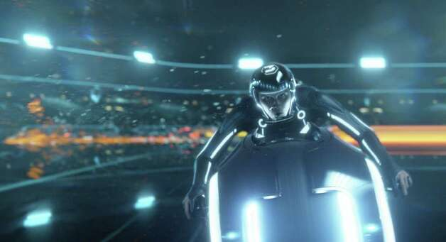 """Tron: Legacy"" is playing at the IMAX Theatre at the Maritime Aqaurium at Norwalk. The film stars Jeff Bridges, Garrett Hedlund, Bruce Boxleitner and Olivia Wilde. Photo: Contributed Photo / Connecticut Post Contributed"