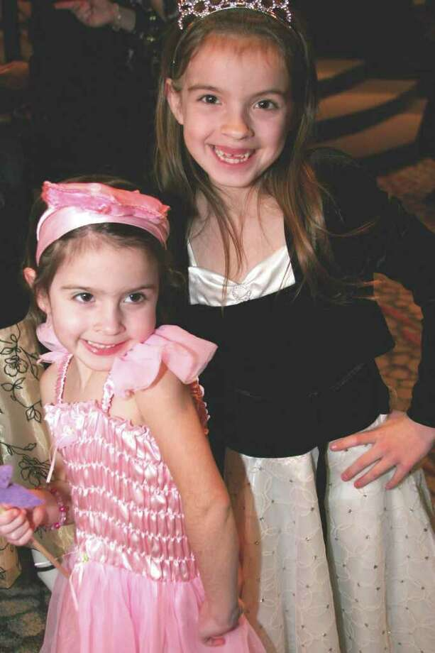 Melana and Kelsey O'Sullivan of Durham attend last year's Winter Wonderland Ball at the Stepping Stones Museum for Children. This year's event will be held Saturday, Feb. 26. Photo: Contributed Photo / Connecticut Post Contributed