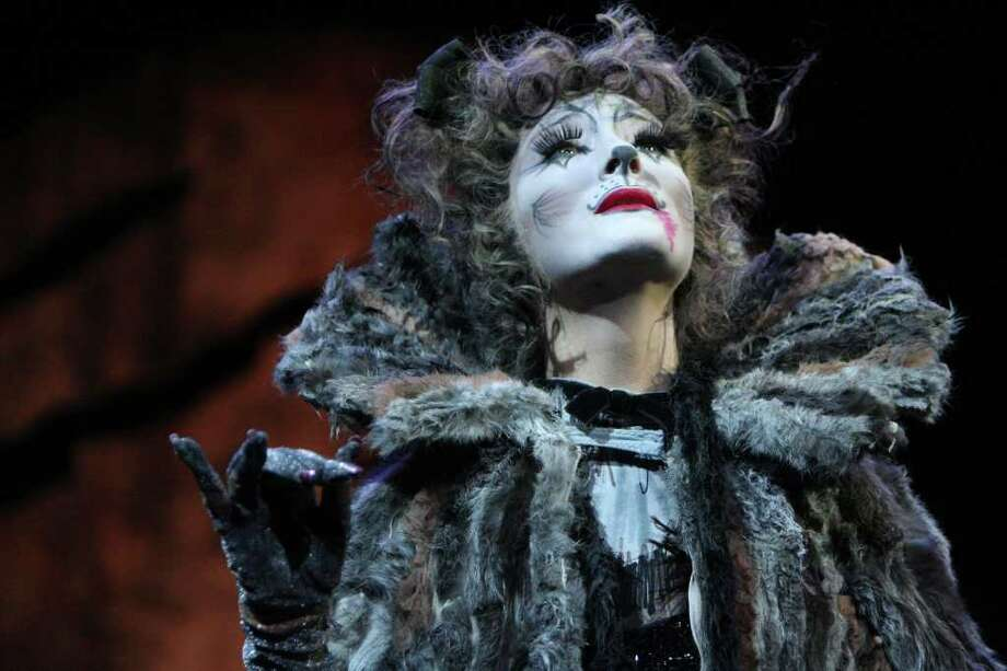 "Anastasia Lange is playing Grizabella in the national tour of ""Cats"" playing New Haven's Shubert Theater March 4 to 6. Photo: Contributed Photo / Connecticut Post Contributed"