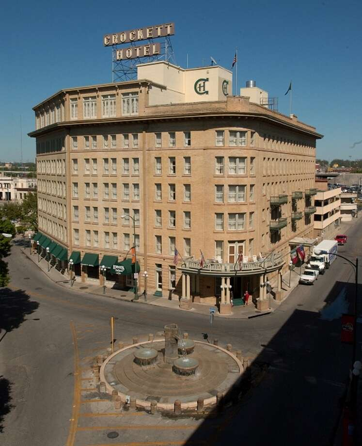 The Crockett Hotel. Photo: Express-News File Photo