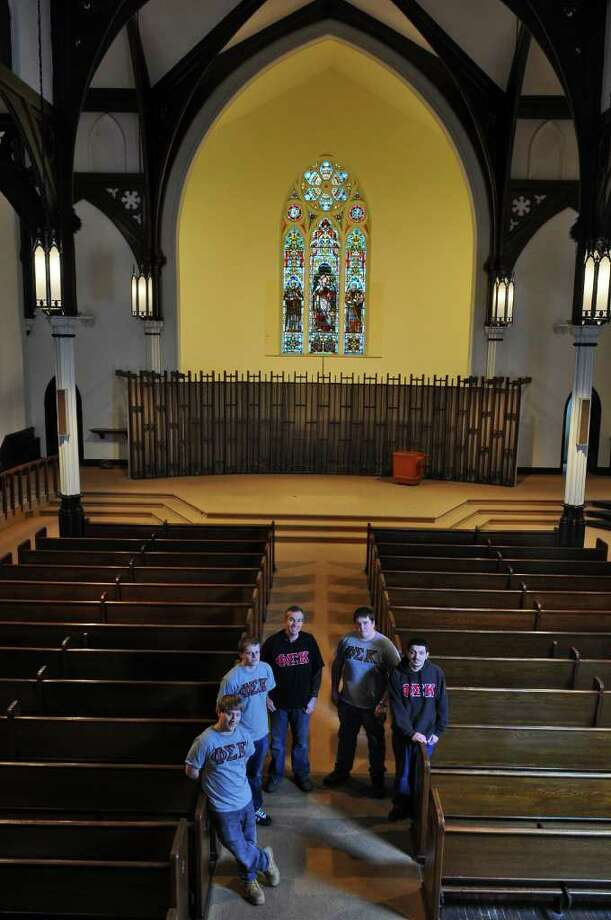 Fraternity Right At Home In Church Times Union