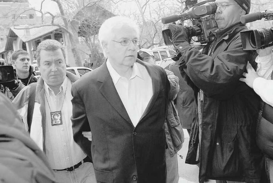 Hank Morris, seen here in 2009, will serve a state prison term and pay $19 million for his role in an influence-peddling scandal involving the $125 billion New York state pension fund. (AP Photo/Louis Lanzano, File) Photo: Louis Lanzano / 2009 AP