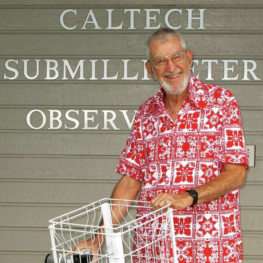 Physics professor Walter Steiger (1923-2011) helped pave the way for the world famous observatories atop Hawaii's Mauna Kea. Photograph by Forrest M. Mims III.