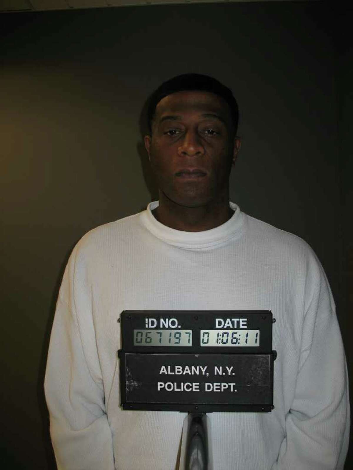 Gino Uzzell (Albany Police Department photo)