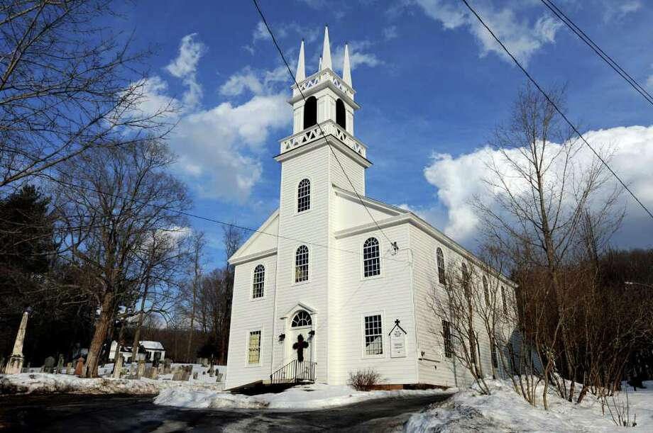 Trinity Episcopal Church in Rensselaerville is celebrating its 200th anniversary on Sunday, Feb 20 . (Cindy Schultz / Times Union) Photo: Cindy Schultz