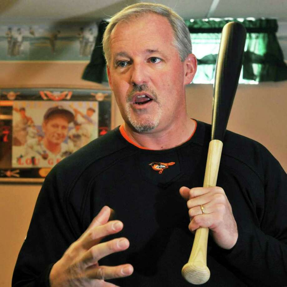 Jim Howard, a 1984 Siena graduate and a 2011 inductee into the Professional Baseball Scouts Hall of Fame, discusses his craft at his Clifton Park home. (John Carl D'Annibale / Times Union) Photo: John Carl D'Annibale / 10012075A
