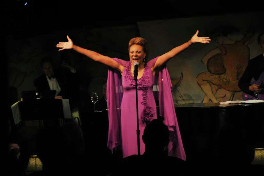 """Leslie Uggams making her first New York Cabaret Appearance in nearly twenty years  with """"Leslie Uggams:Uptown Downtown"""" at the Cafe Carlye. (Richard Corkery / New York Daily News) Photo: Corkery, Richard / New York Daily News"""