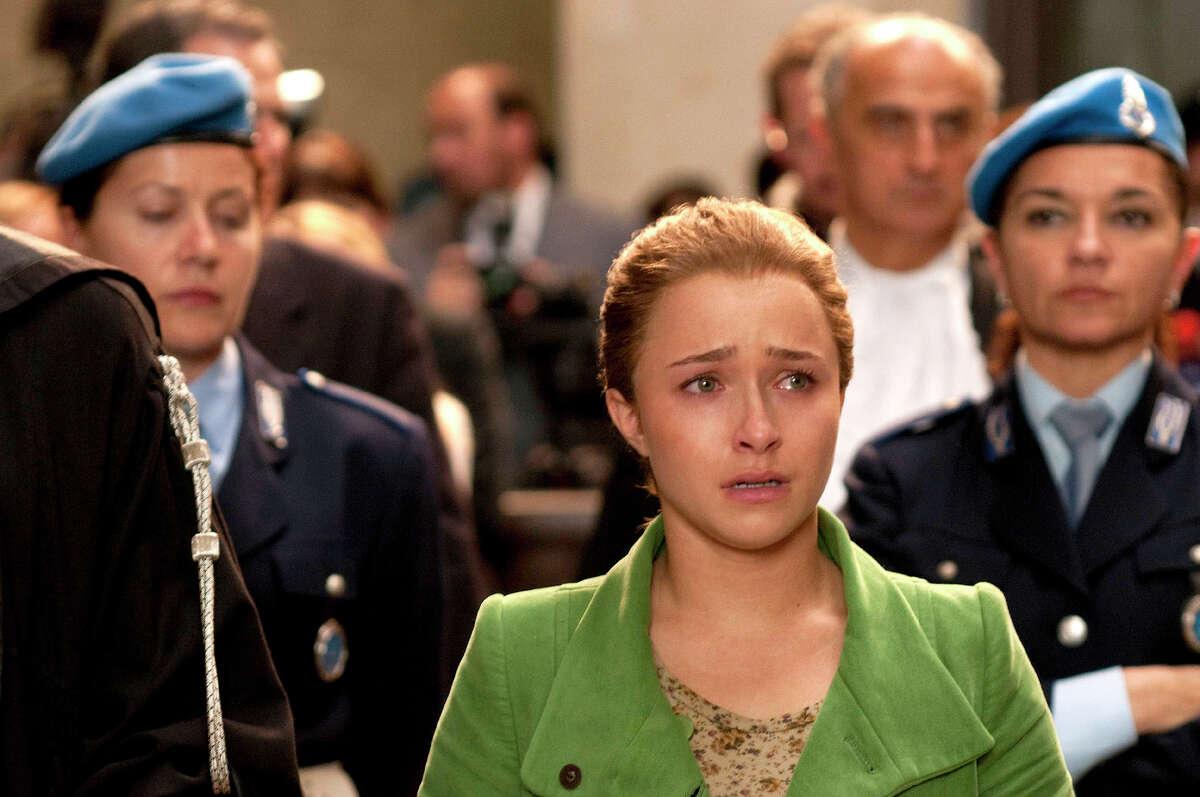 Hayden Panettiere as Amanda Knox in