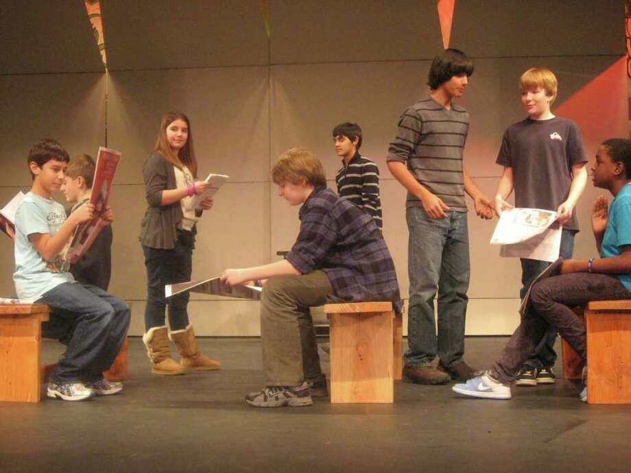 "Saxe Middle School presents ""The Music Man."" Photo: Contributed Photo / New Canaan News"
