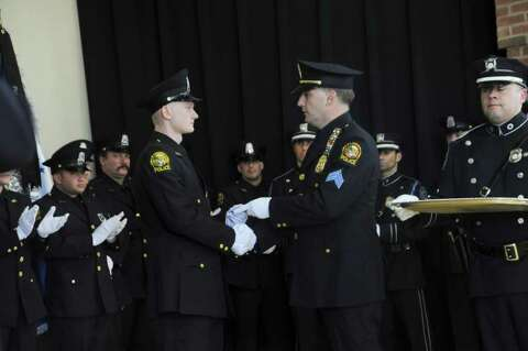 Greenwich Police Department announces four promotions