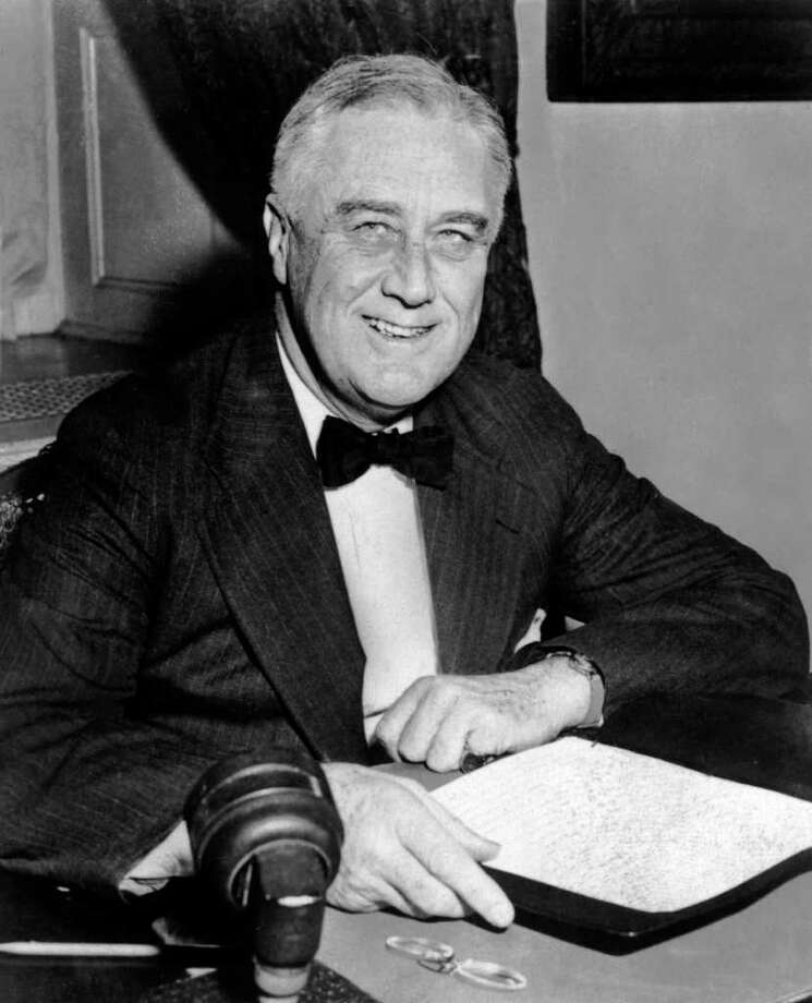 32. Franklin D. Roosevelt, 1933-1945  (AFP/AFP/Getty Images) Photo: AFP, Express-News / AFP