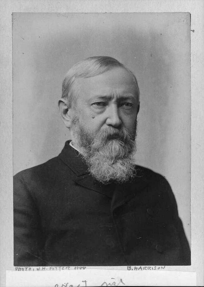23. Benjamin Harrison, 1889-1893 (AP Photo) Photo: Express-News / LIBRARY OF CONGRESS