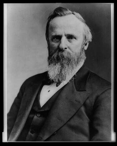 19. Rutherford B. Hayes, 1877-1881 (Library of Congress) Photo: Express-News / LIBRARY OF CONGRESS