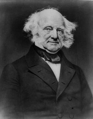 8. Martin Van Buren, 1837-1841 (AP Photo) Photo: Express-News / AMERICAN MEMORY COLLECTION