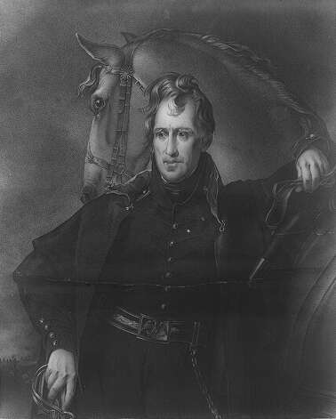 7. Andrew Jackson, 1829-1837 Photo: Express-News / AMERICAN MEMORY COLLECTION