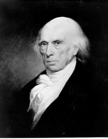 James Madison — Madison wanted to form a government-run National Brewery and proposed creating a cabinet position of Secretary of Beer to promote the domestic beer industry. First lady Dolley Madison served bouillon at afternoon receptions on cold, dreary days, and her layer cake was legendary. Photo: Express-News