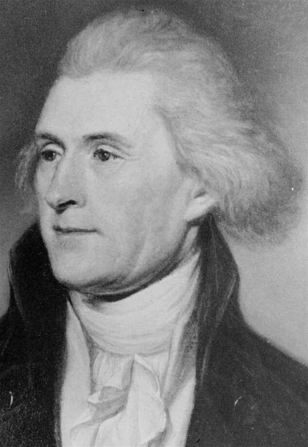 3. Thomas Jefferson, 1801-1809 (AP Photo) Photo: Express-News / AP