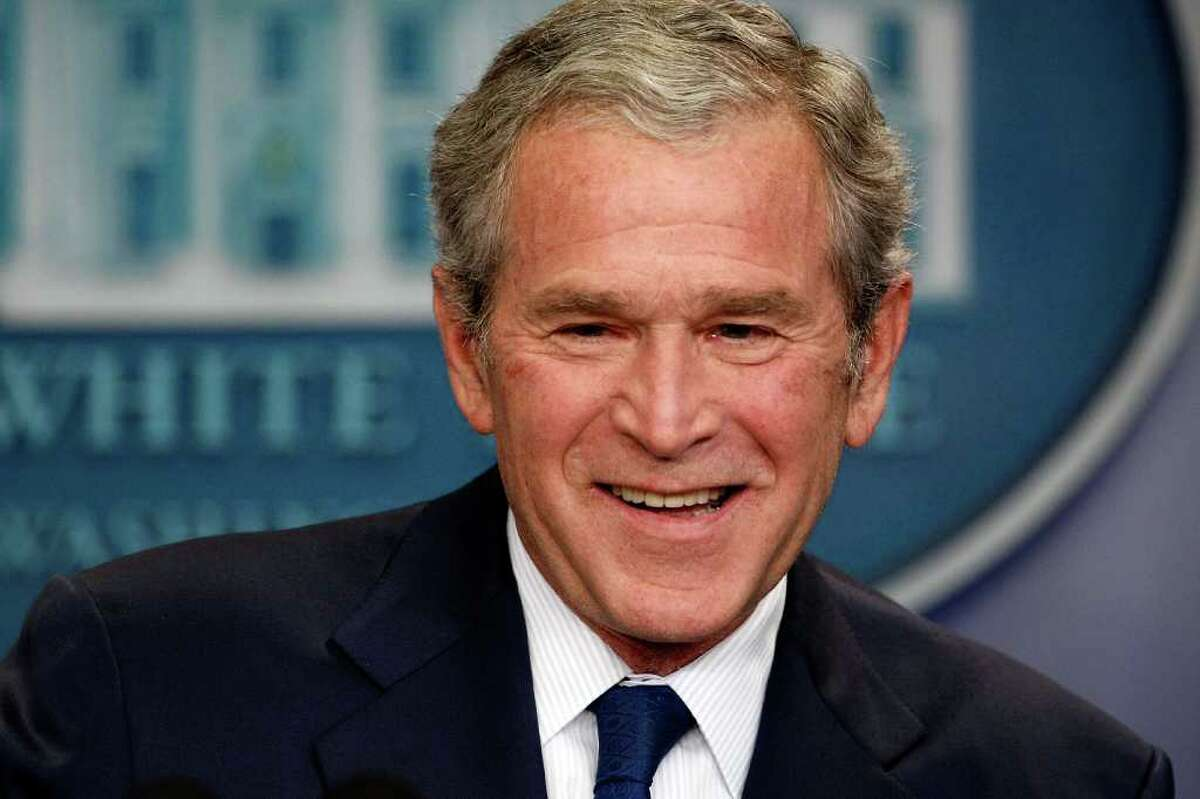 President George W. Bush beat John Kerry in 2004. (Chip Somodevilla / Getty Images)