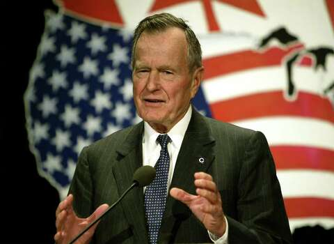 41. George H.W. Bush, 1989-1993 (AP Photo/J. Scott Applewhite) Photo: J. SCOTT APPLEWHITE, Express-News / AP