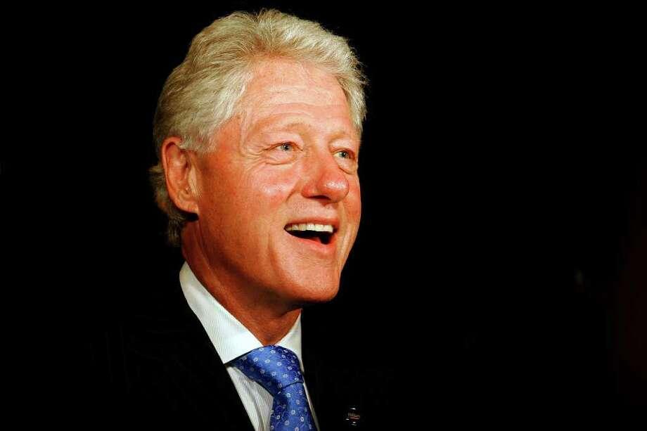 42. Bill Clinton, 1993-2001 (Nicole Fruge/San Antonio Express News) Photo: NICOLE FRUGE, Express-News / SAN ANTONIO EXPRESS-NEWS