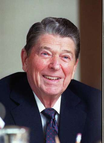 40. Ronald Reagan, 1981-1989  (AP Photo/Bob Galbraith) Photo: BOB GALBRAITH, Express-News / AP1990