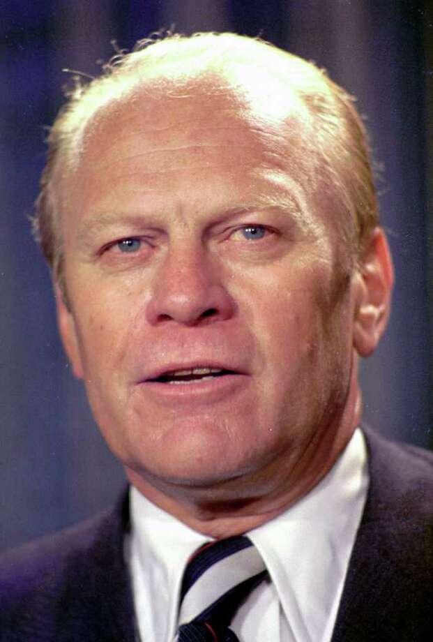 38. Gerald Ford, 1974-1977 (AP Photo) Photo: Express-News / AP