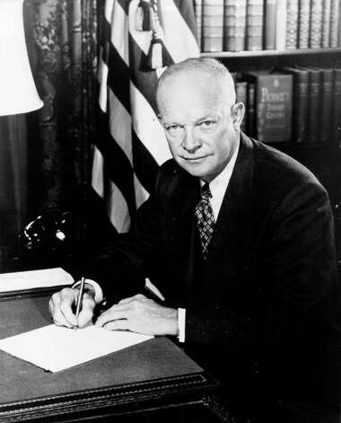 34. Dwight D. Eisenhower, 1953-1961 (AP Photo) Photo: Nickolas Nuray, Express-News / EXPRESS-NEWS FILE PHOTO