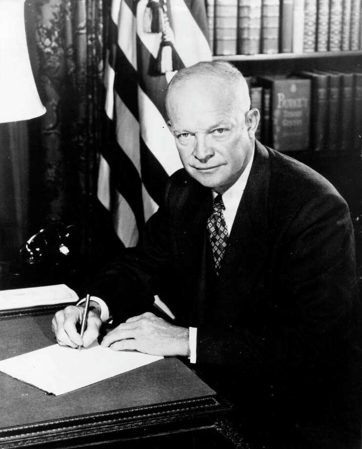 34. Dwight D. Eisenhower, 1953-1961 (AP Photo) Photo: Nickolas Nuray, Express-News / EXPRESS-NEWS FILE PHOTO