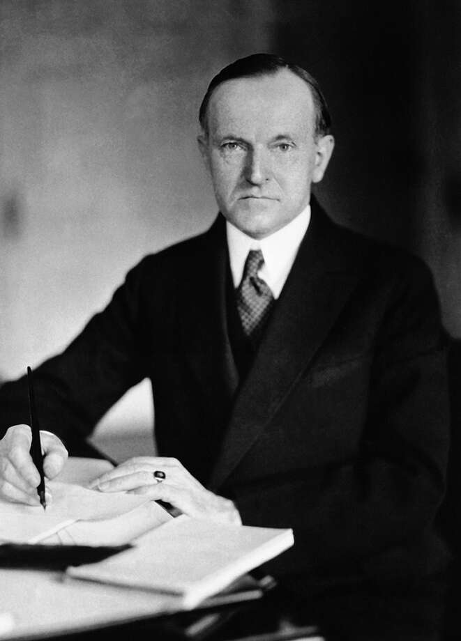 30 Calvin Coolidge, 1923-1929 (AP Photo) Photo: Express-News
