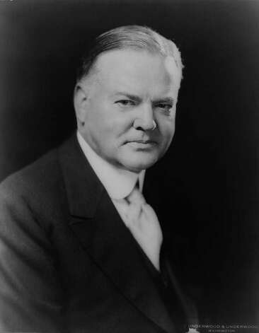 31. Herbert Hoover, 1929-1933 (Library of Congress) Photo: Express-News / LIBRARY OF CONGRESS