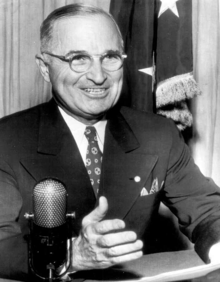 Harry S Truman — In the Truman White House, daily affairs ran like a business, with strict punctuality. Breakfast was served at 8 a.m., luncheon at 1 p.m. and dinner at 7 p.m. Exactly. Photo: Express-News / EXPRESS-NEWS FILE PHOTO