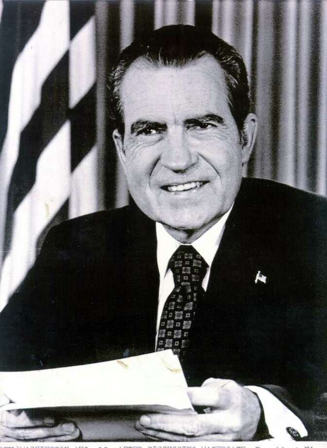 37. Richard Nixon, 1969-1974 (AP Photo) Photo: Express-News / EXPRESS-NEWS FILE PHOTO