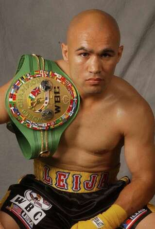 CONEXION -- Two-Time World Champion Boxer Jesse James Leija serves as the official Fit Family Challenge Head Coach, a program developed by San Antonio Sports to help motivate San Antonio families to get fit and healthy. The program launches on Saturday, May 1. Photo provided on April 26, 2010 Photo provided by San Antonio Sports