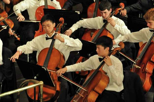 The Greater Bridgeport Youth Orchestras, featuring more than 240 students from more than 30 municipalities in Fairfield and New Haven counties, will present its Winter Concert Sunday, March 6 in Bridgeport. Photo: Contributed Photo / Connecticut Post Contributed