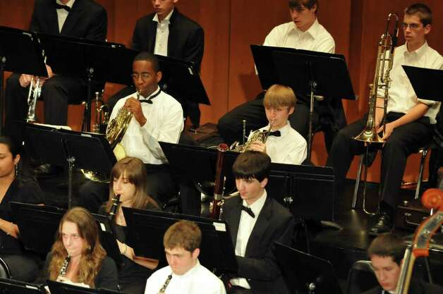 The Greater Bridgeport Youth Orchestras will present its Winter Concert Sunday, March 6 at 3 p.m. at the Klein Memorial Auditorium in Bridgeport. Photo: Contributed Photo / Connecticut Post Contributed