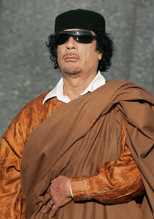 Moammar Gadhafi. Photo: Sergei Grits, AP / AP