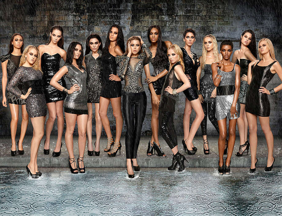 Five of the 14 contestants of this season's America's Next Top Model -- which premieres tonight at 7 p.m. on The CW -- are from Texas. COURTESY CW