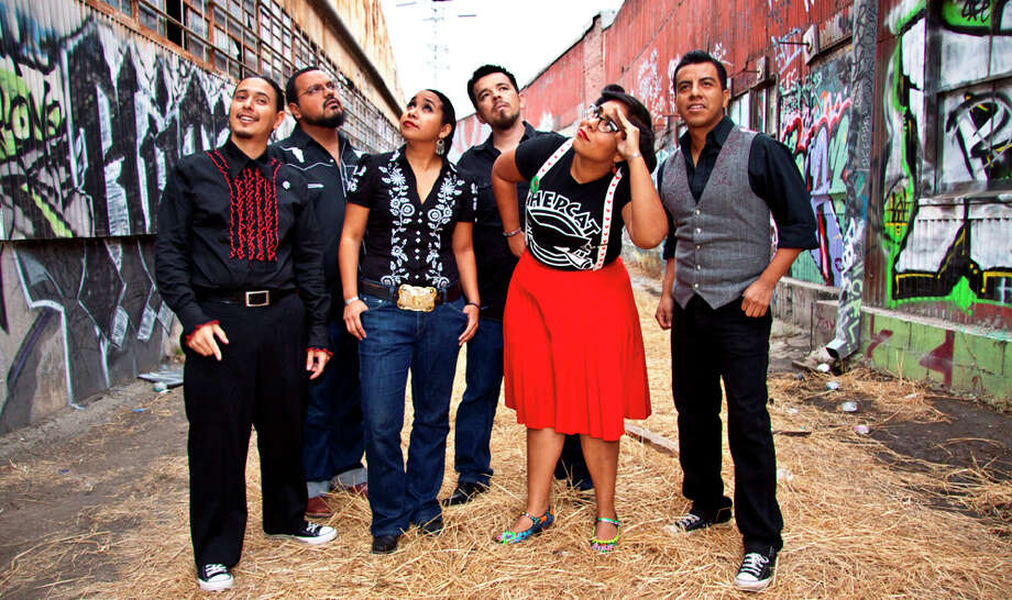 Los Angeles Latin-pop group La Santa Cecilia will play The Mix tonight with danceable music. COURTESY PHOTO