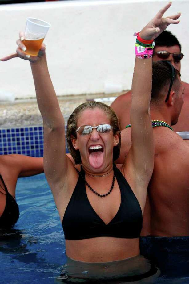 Mexico is often the site of obscene beach parties and wild spring break parties. Click ahead to see more. Photo: GREGORY BULL, AP / AP