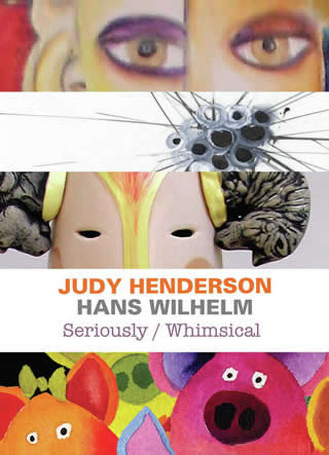 Add a little whimsy to your weekend at the Fairfield Arts Center, with the opening of a show by husband and wife duo Hans Wilhelm and Judy Henderson. Photo: Contributed Photo / Fairfield Citizen