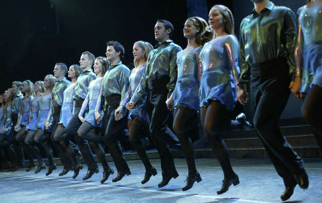 """Riverdance"" steps its way into Stamford's Palace Theatre on Wednesday, March 9. Photo: Contributed Photo / Connecticut Post Contributed"