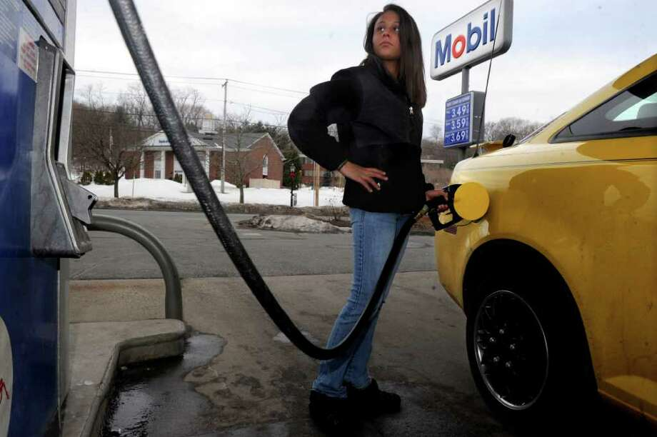 In 1988, the average gas price was between 72 and 98 cents per gallon. In March 2016, Connecticut's average gas price is $1.87, which is actually about 80 cents per gallon cheaper than last year.  Photo: Lindsay Niegelberg / Connecticut Post