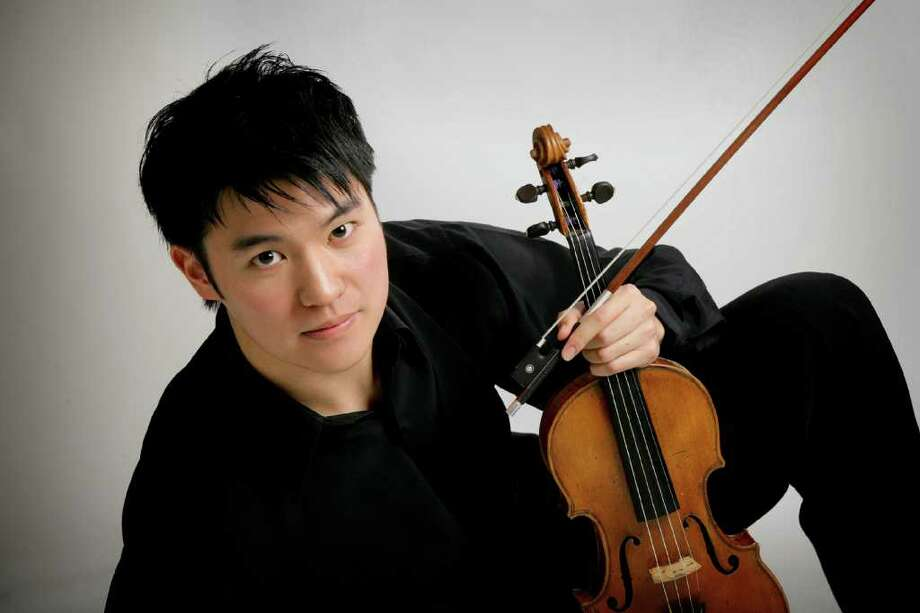 Violinist Ray Chen will perform the March 12  Young Persons' Concert in the Pequot Library. Photo: Contributed Photo / Fairfield Citizen contributed