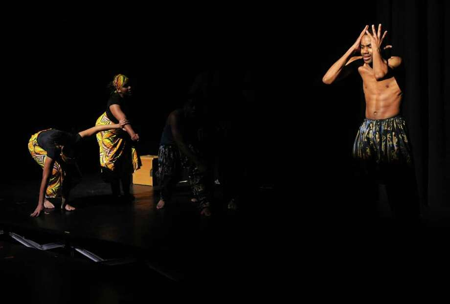 Highlights from the play Timeline, performed at Housatonic Community College's Performing Arts Center in Lafayette Hall in Bridgeport, Conn. on Thursday February 24, 2011. Photo: Christian Abraham / Connecticut Post