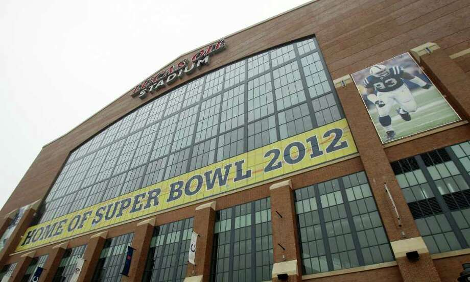 The Indianapolis Colts play in the No. 4 stadium, Lucas Oil Stadium. Photo: AP