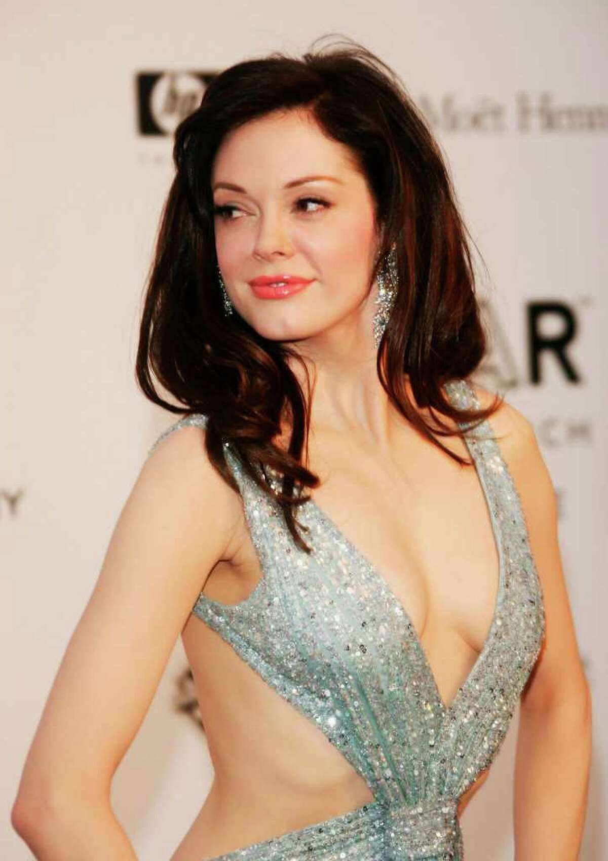 MOUGINS, FRANCE - MAY 23: Actress Rose McGowan arrives at the Cinema Against Aids 2007 in aid of amfAR at Le Moulin de Mougins in Mougings on May 23, 2007 in Cannes, France. The amfAR foundation raises funds for research, education and treatment of AIDS / HIV worldwide. (Photo by Pascal Le Segretain/Getty Images) *** Local Caption *** Rose McGowan