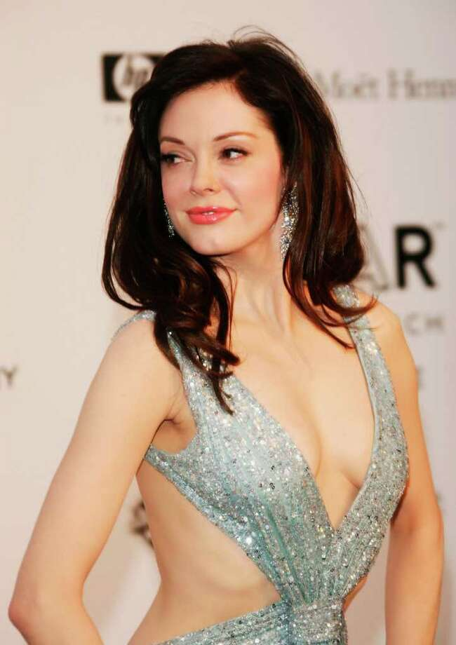 MOUGINS, FRANCE - MAY 23:  Actress Rose McGowan arrives at the Cinema Against Aids 2007 in aid of amfAR at Le Moulin de Mougins in Mougings on May 23, 2007 in Cannes, France. The amfAR foundation raises funds for research, education and treatment of AIDS / HIV worldwide.  (Photo by Pascal Le Segretain/Getty Images) *** Local Caption *** Rose McGowan Photo: Pascal Le Segretain, Getty Images / 2007 Getty Images