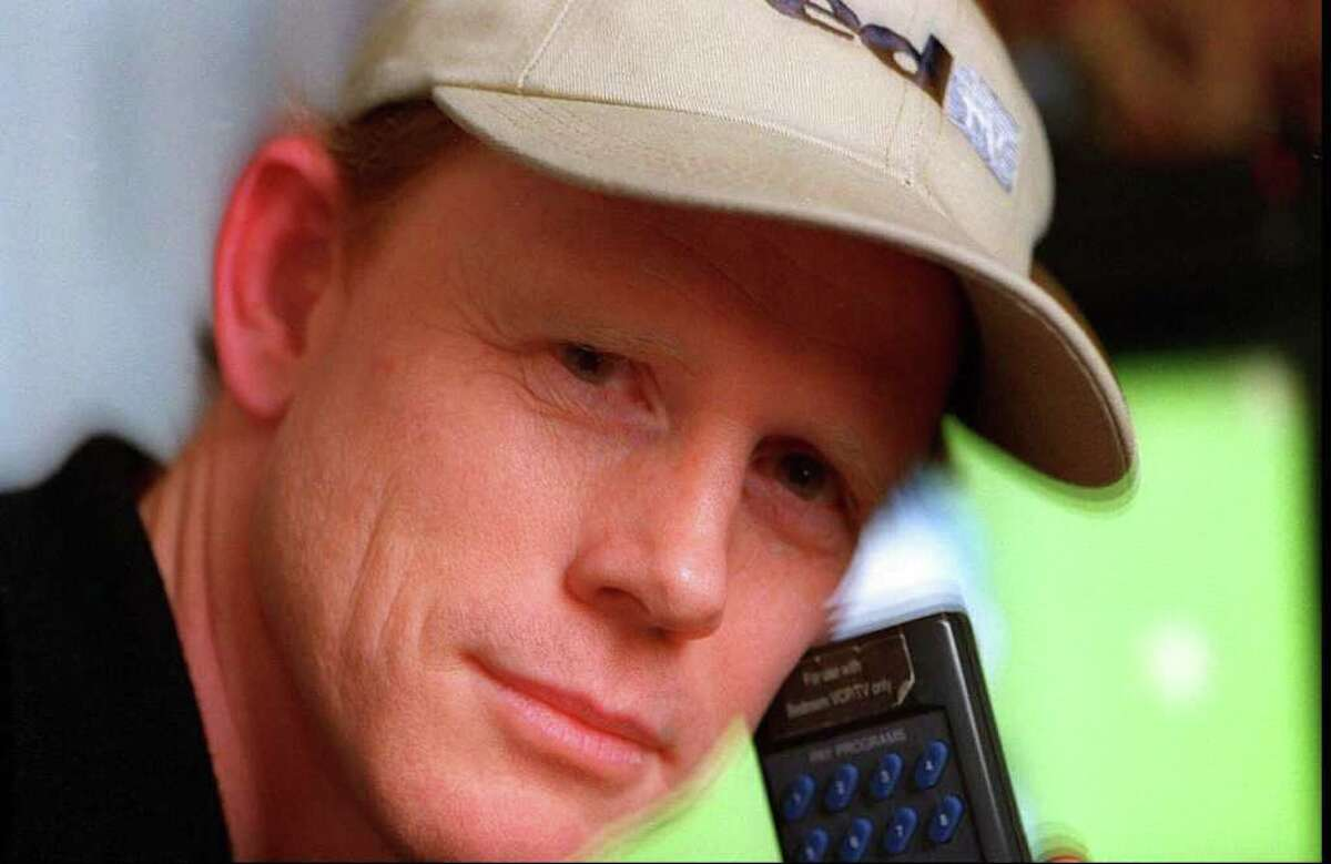 Director Ron Howard, a Greenwich resident.