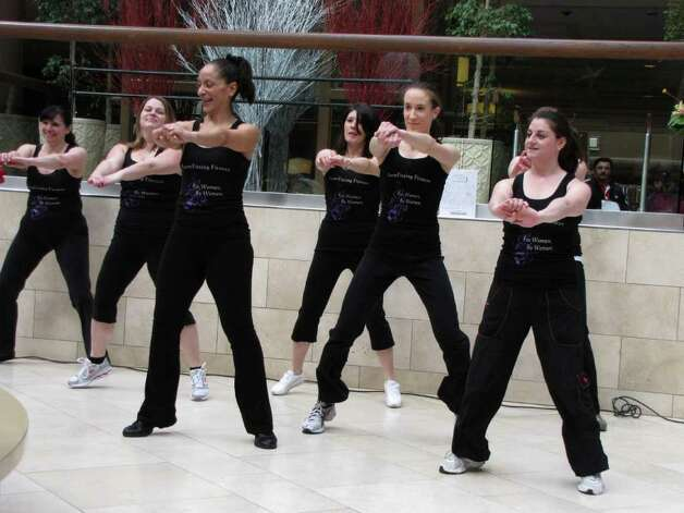 """Were you seen at the ""Day of Dance"" at the Danbury Fair Mall on February 26, 2011?"" Photo: Vincent Rodriguez / The News-Times"