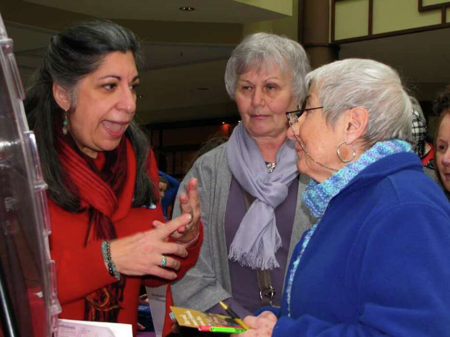 """""""Were you seen at the """"Day of Dance"""" at the Danbury Fair Mall on February 26, 2011?"""" Photo: Vincent Rodriguez / The News-Times"""